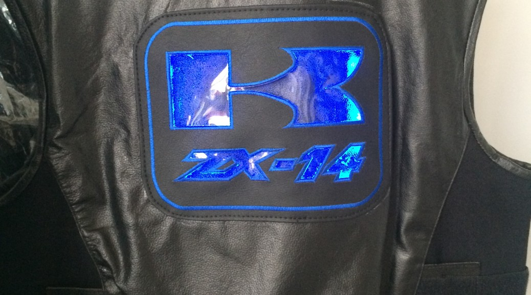 Vest with ZX-14 Patch